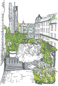 apprico Beispiel Balkon