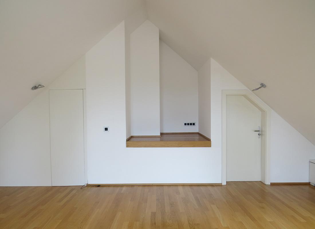 Yogaraum Unter Dem Dach Nach Feng Shui Kriterien Umgestaltet